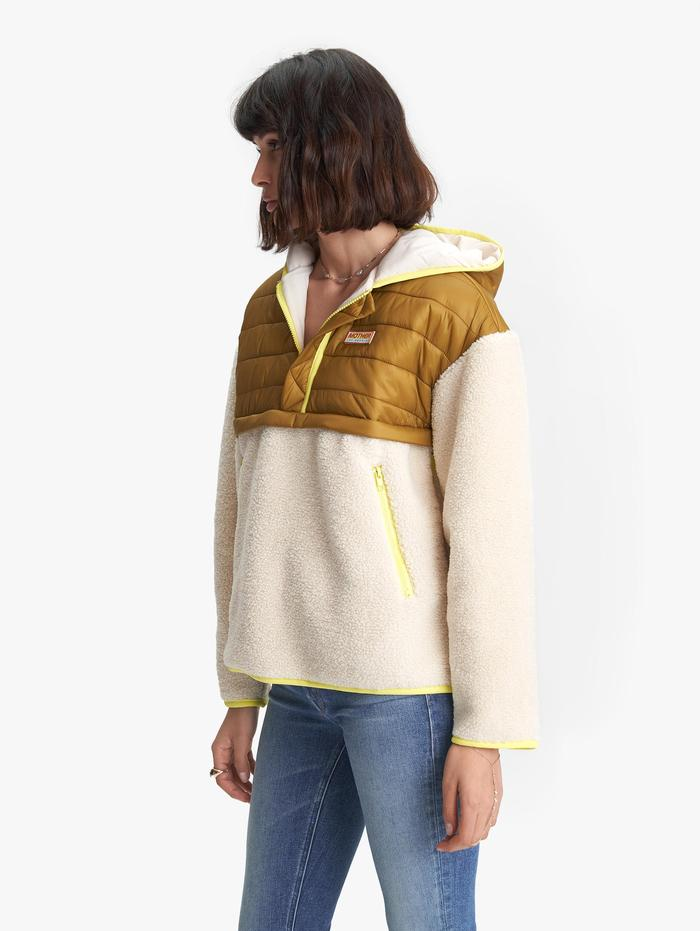 Womens Sher-Puff Zip Pullover - Beyond The Summit울랄라 편집샵
